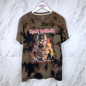 Iron Maiden The Book of Souls Tour 2017 T-Shirt